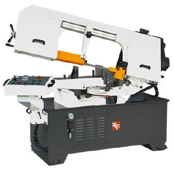 Birmingham  RF-330N  Horizontal  Band  Saw - Illustrated