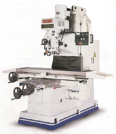 Birmingham BPV-B3V Variable Speed Bed Type Milling Machine